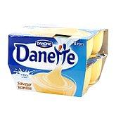 Crèmes dessert saveur vanille Danette