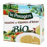 mouliné de légumes d'hiver bio la potagère 2x30cl