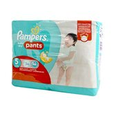 Couches culottes taille 5 : 11-18 kg Pampers