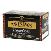 the de ceylan 20 sachets twinings 40g