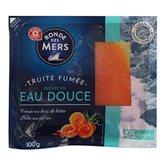 Truite eau douce Ronde des Mers x4 tranches - 100g