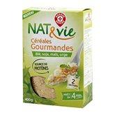 Céréales gourmandes Nat&Vie 2x200g