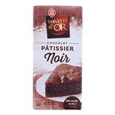 Or Chocolat Pâtissier Tablette d Noir - 200g
