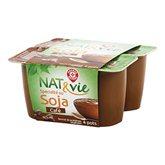 Soja dessert au café Nat&Vie 4x100g