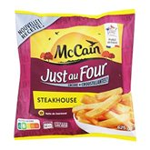 Frites Steakhouse Just au Four McCain