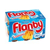 Flans vanille caramel Flanby