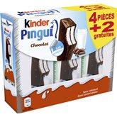 Barres Kinder Pingui Chocolat 4x30g