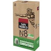 Café capsules n°8 bio San Marco