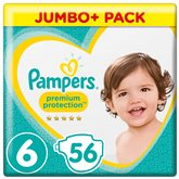 Couches Pampers Premium T6 - x56