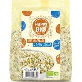 Riz basmati Happy Bio 2 soja - 500g
