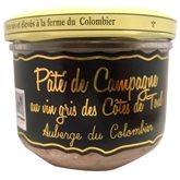 Pâté au vin Gris Côtes Toul Les Saveurs du Colombier - 200g