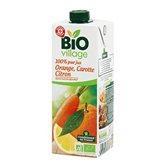 Pur Jus d'orange Bio Village Carotte Citron - 1L