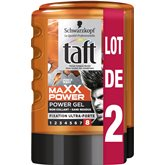 Schwarzkopf Gel coiffant Taft Power gel Fixation 8 2x300ml