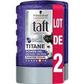 Schwarzkopf Gel coiffant Taft Titane 2x300ml