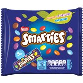 Smarties x5 tubes - 190g