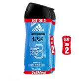 Adidas Gel douche  After sport - 2x250ml