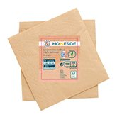 Homeside Serviettes kraft Homeside 25x25cm - x50