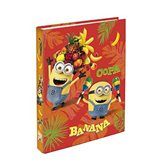 Les Minions Classeur carte Les Minions Banana - A4 - 4 anneaux