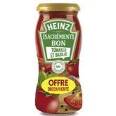 Heinz Sauce pâtes tomates  Basilic - 240g