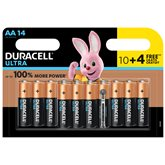 Duracell Piles  AA/LR6 - Ultra Power - x14