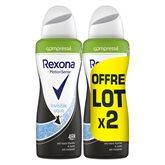 Rexona Déodorant spray Rexona Invisible 2x100ml