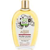 SO'BiO étic Huile pure Argan So'Bio Bio - 100ml