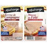 Madrange Terrine de campagne de foie Madrange - 2x50g