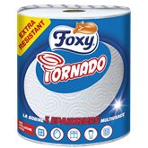 Tornado Essuie-tout Foxy  3 épaisseurs - 1 bobine
