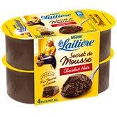 Nestlé Secret de mousse la Laitière Chocolat noir - 4x59g