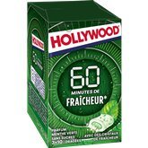 Hollywood Chewing-gum Hollywood 40min Menthe verte 3x20g