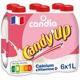 Candia Lait à la fraise Candy up 6x1L