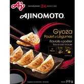 Ajinomoto Gyoza Ajinomoto Poulet & légumes - 212g