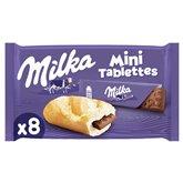 Milka Mini tablettes Milka Chocolat au lait - 8x25g
