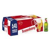 Kronenbourg Bière blonde Kronenbourg 4.2%vol. - 40x25cl