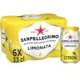 San Pellegrino Eau aromatisée San Pellegrino Limonata - 6x33cl