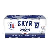 Danone Spécialité laitière Danone nature 0% - 2x140g