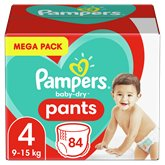 Pampers Culottes Pampers Baby Dry Taille 4 9/15kg - x84