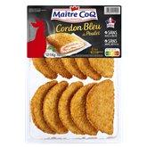 Maître Coq Cordons bleus Maître coq Poulet - 1kg