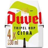 Duvel Bière belge Duvel Tripel Hop Pack - 4x33cl