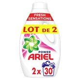 Ariel Lessive liquide Ariel Pink 2 x 30 doses- 2x1,65L