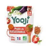 Yooji Purée bébé Bio Yooji Ratatouille - Dès 9 mois - 480g
