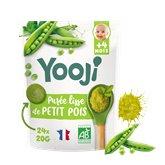 Yooji Purée bébé Bio Yooji Petits pois - Dès 4 mois - 480g