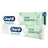 Oral B Dentifrice Pure Activ Oral B Soin Essentiel - 75ml