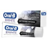 Oral B Dentifrice Oral B 3D White Whitening Therapy Charbon -75ml