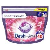 Dash Lessive All In 1 Dash Pods Coup de foudre x42 - 1,048kg