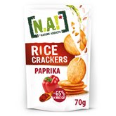 [N.A!] Nature Addicts Crackers N.A! Rice Paprika - 70g
