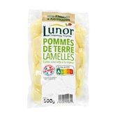 Lunor Pommes de terre lamelles Lunor De consommation cuites - 500g