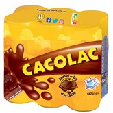 Cacolac Cacolac Chocolat Canettes Pack - 6x25cl