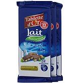 Chocolat Tablette d'Or lait