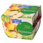 Dessert fruitier pomme